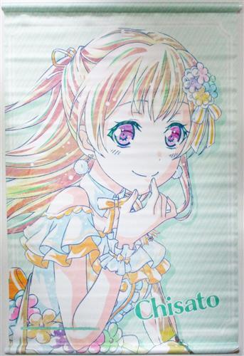 BanG Dream! ガールズバンドパーティ! Ani-Art B2タペストリー vol.2 Pastel*Palettes 白鷺千聖