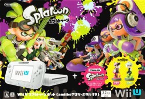 WiiU本体 スプラトゥーンセット (amiibo アオリ・ホタル付) 【Wii U】