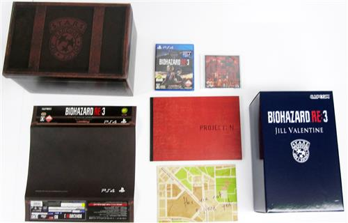 BIOHAZARD RE:3 COLLECTOR'S EDITION 【PS4】