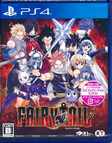 FAIRY TAIL (通常版) (PS4版)