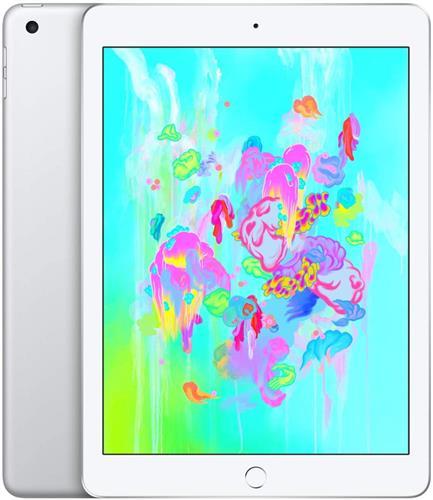 iPad (第6世代) 9.7インチ 128GB シルバー au SIMロック解除済 (MR732J/A)