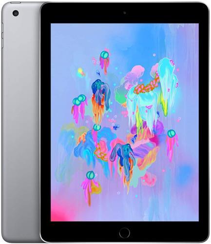 iPad (第6世代) 9.7インチ 128GB スペースグレイ au SIMロック解除済 (MR722J/A)