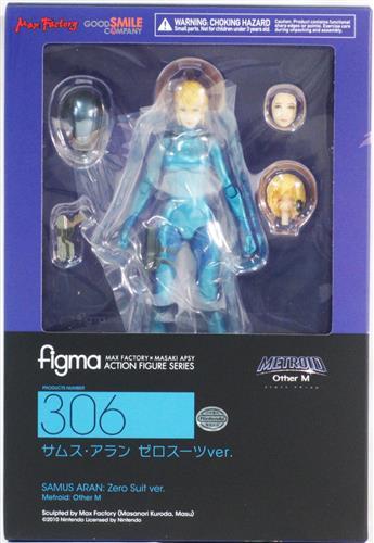 figma 306 METROID Other M サムス・アラン ゼロスーツVer. 【フィギュア】[グッドスマイルカンパニー]