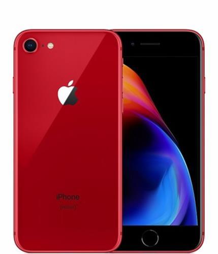 iPhone8 4.7インチ 64GB レッド au SIMロック解除済 (MRRY2J/A)