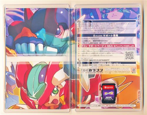 ロックマン ゼロ&ゼクス ダブルヒーローコレクション (Nintendo Switch版)
