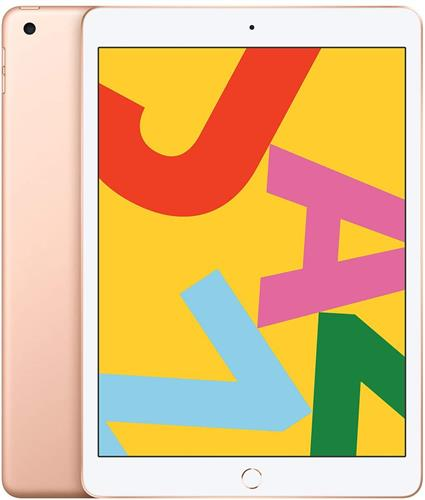 iPad (第7世代) 10.2インチ 128GB ゴールド 国内SIMフリー (MW6G2J/A)