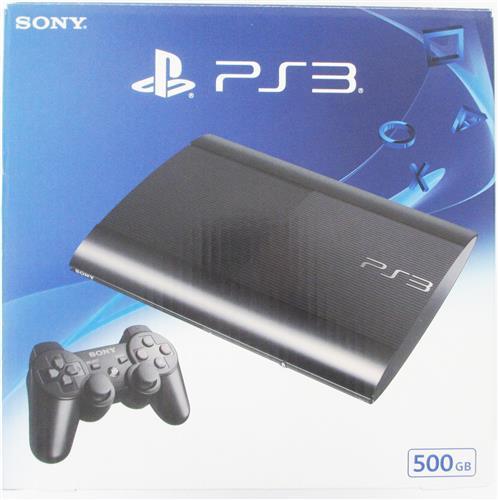 PlayStation 3 チャコール・ブラック (500GB) (箱説あり完品)