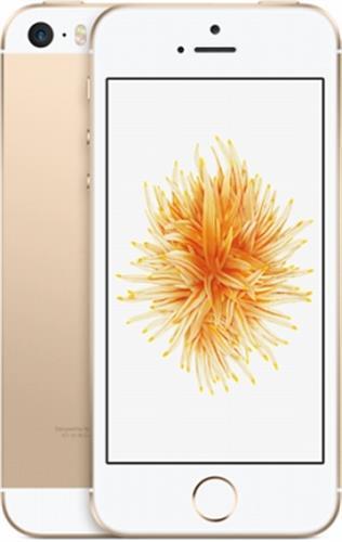 iPhoneSE 4インチ 128GB ゴールド au SIMロック解除済 (MP882J/A)