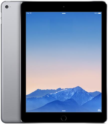 iPad Air2 9.7インチ 128GB スペースグレイ 国内SIMフリー (MGWL2J/A)