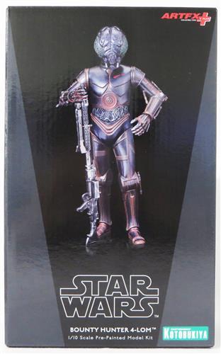 ARTFX+ スター・ウォーズ/帝国の逆襲 バウンティ・ハンター 4-LOM