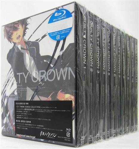 ギルティクラウン 完全生産限定版 全11巻セット
