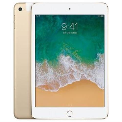iPad mini4 7.9インチ 128GB ゴールド au SIMロック解除済 (MK782J/A)