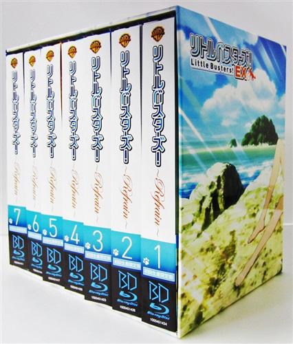 リトルバスターズ! ~Refrain~ 初回生産限定版 全7巻+アニメイト全巻購入特典全巻収納BOXセット