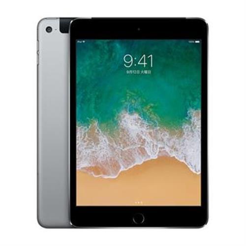 iPad mini4 7.9インチ 128GB スペースグレイ au SIMロック解除済 (MK762J/A)