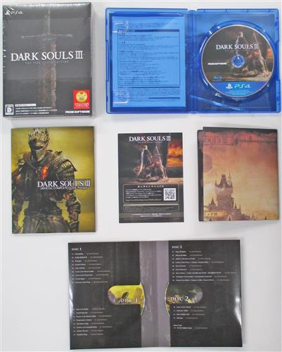 DARK SOULS III THE FIRE FADES EDITION 初回限定版 (PS4版)