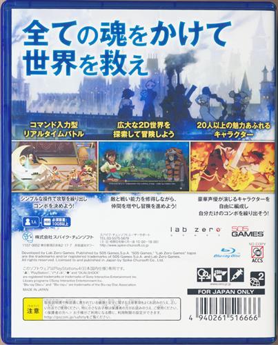 インディヴィジブル 闇を祓う魂たち (PS4版)