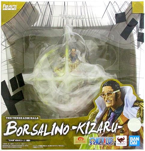 """フィギュアーツZERO [EXTRA BATTLE] ONE PIECE """"三大将"""" ボルサリーノ-黄猿-"""