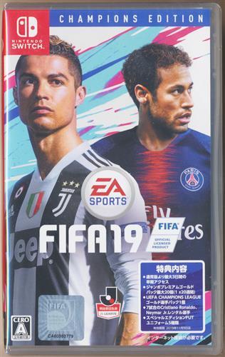 FIFA 19 CHAMPIONS EDITION (Nintendo Switch版)