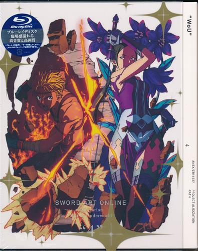 ソードアート・オンライン アリシゼーション War of Underworld 4 完全生産限定版 【ブルーレイ】