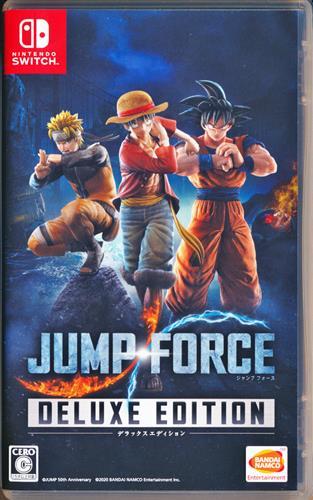 JUMP FORCE デラックスエディション 【Nintendo Switch】