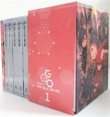 ソードアート・オンライン オルタナティブ ガンゲイル・オンライン 完全生産限定版 全6巻セット