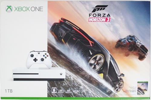 Xbox One S 1TB Forza Horizon 3 同梱版