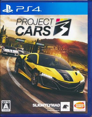 PROJECT CARS 3 【PS4】