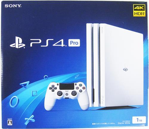 PlayStation 4 Pro グレイシャー・ホワイト (1TB/CUH-7200BB02) (箱説あり完品)