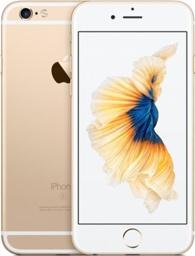 iPhone6S 4.7インチ 128GB ゴールド docomo SIMロック解除済 (MKQV2J/A)