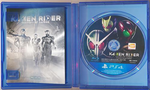 KAMENRIDER memory of heroez Premium Sound Edition (PS4版)