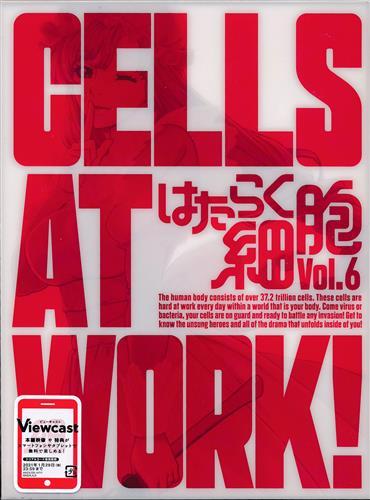 はたらく細胞 Vol.6 【DVD】