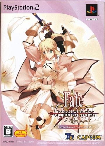 Fate/unlimited codes(フェイト/アンリミテッドコード) border=0