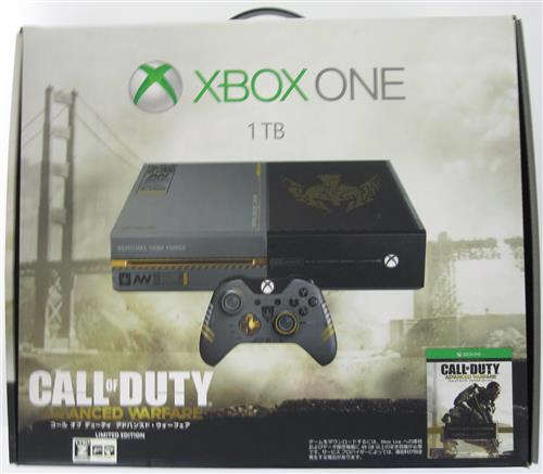 Xbox One コール オブ デューティ アドバンスド・ウォーフェア Limited Edition (1TB)