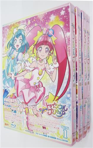 スター☆トゥインクルプリキュア 全4巻セット 【ブルーレイ】
