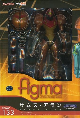 figma 133 METROID Other M サムス・アラン 【フィギュア】[マックスファクトリー]