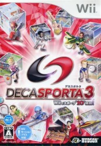 "DECA SPORTA 3 Wiiでスポーツ""""10""""種目! 【Wii】"