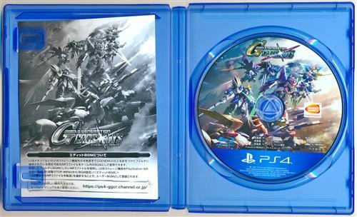 SDガンダム ジージェネレーション クロスレイズ (PS4版)
