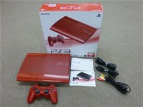 PlayStation 3 ガーネット・レッド (250GB) (箱説あり完品)