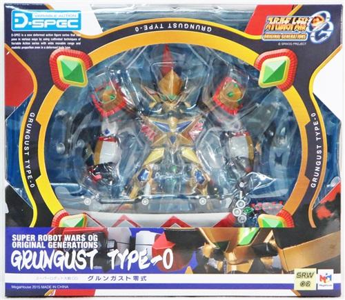 ヴァリアブルアクション D-SPEC スーパーロボット大戦OG グルンガスト零式 【フィギュア】[メガハウス]