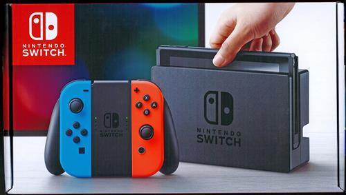 Nintendo Switch Joy-Con (L) ネオンブルー/(R) ネオンレッド (2017年3月発売)