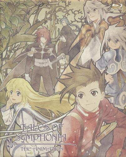 テイルズ オブ シンフォニア THE ANIMATION EXTENDED TRILOGY BD-BOX