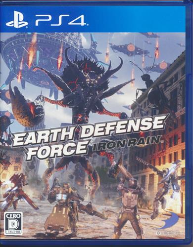 EARTH DEFENSE FORCE:IRON RAIN 【PS4】