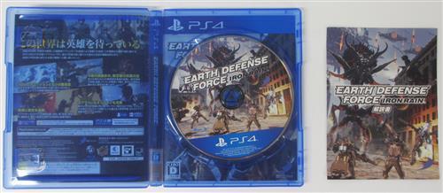 EARTH DEFENSE FORCE:IRON RAIN 【PS4】